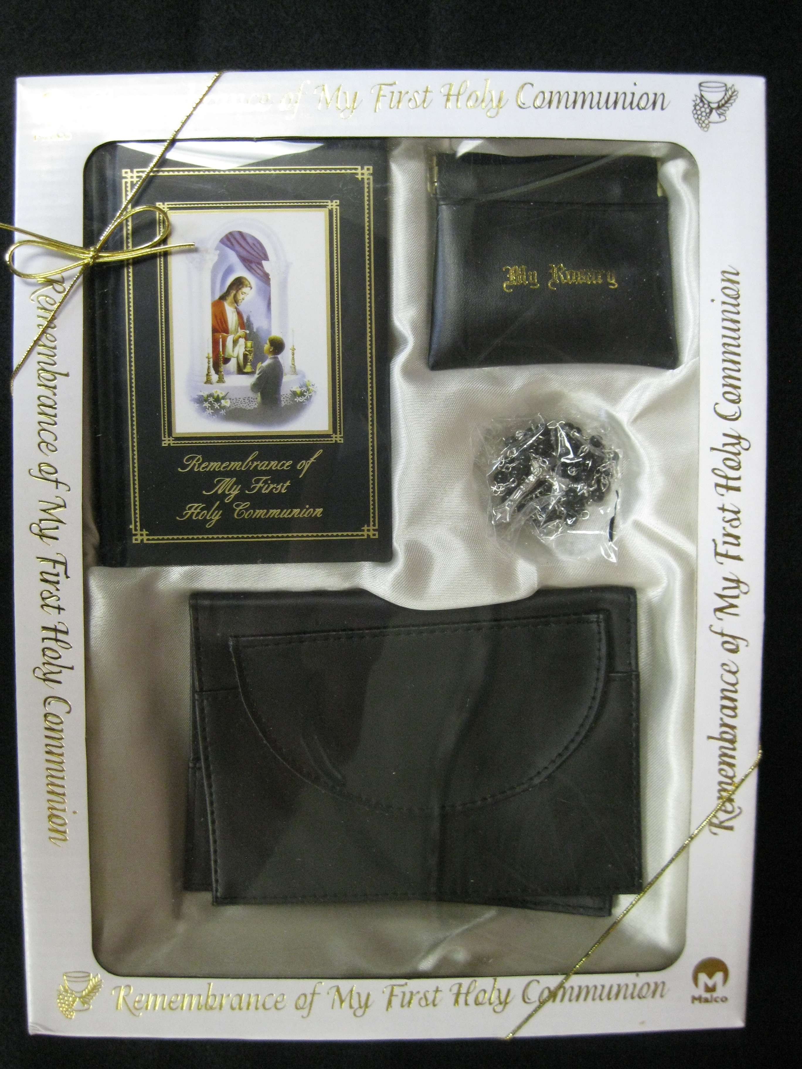 Boy First Holy Communion Set